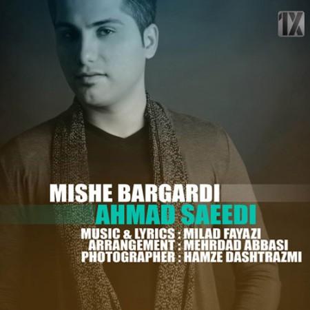 دانلود آهنگ میشه برگردی از احمد سعیدی