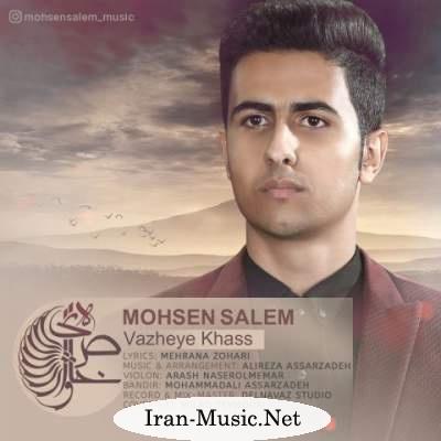 دانلود آهنگ جدید محسن سالم بنام واژه های خاص