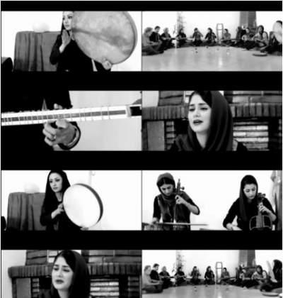 دانلود موزیک ویدیو جدید گروه ماه بانو بنام گلرخ