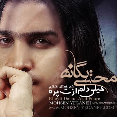 دانلود آهنگ جدید محسن یگانه بنام خیلی دلم ازت پره